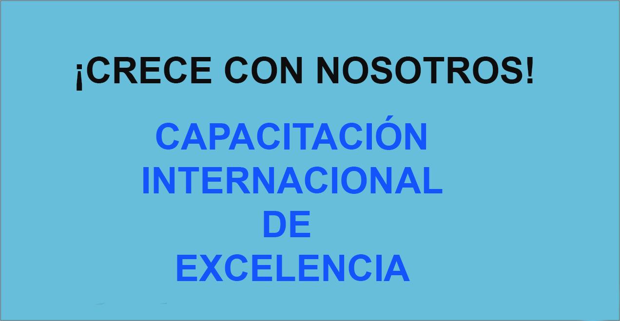 Capacitación Internacional